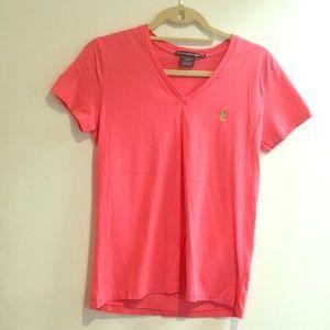 Ralph Lauren sport coral t shirt